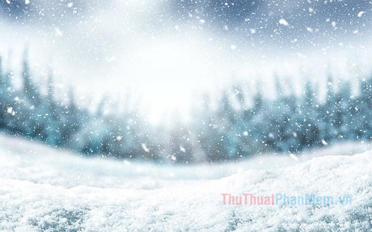 Những hình ảnh tuyết rơi đẹp nhất