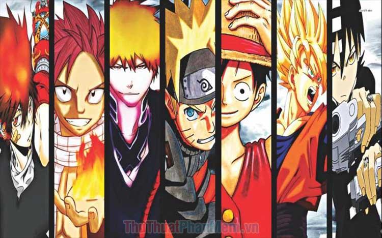 Top Anime hành động hay nhất