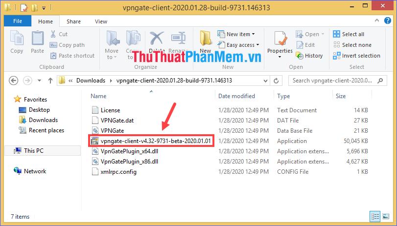 Giải nén thư mục ZIP vừa tải rồi chạy file cài đặt