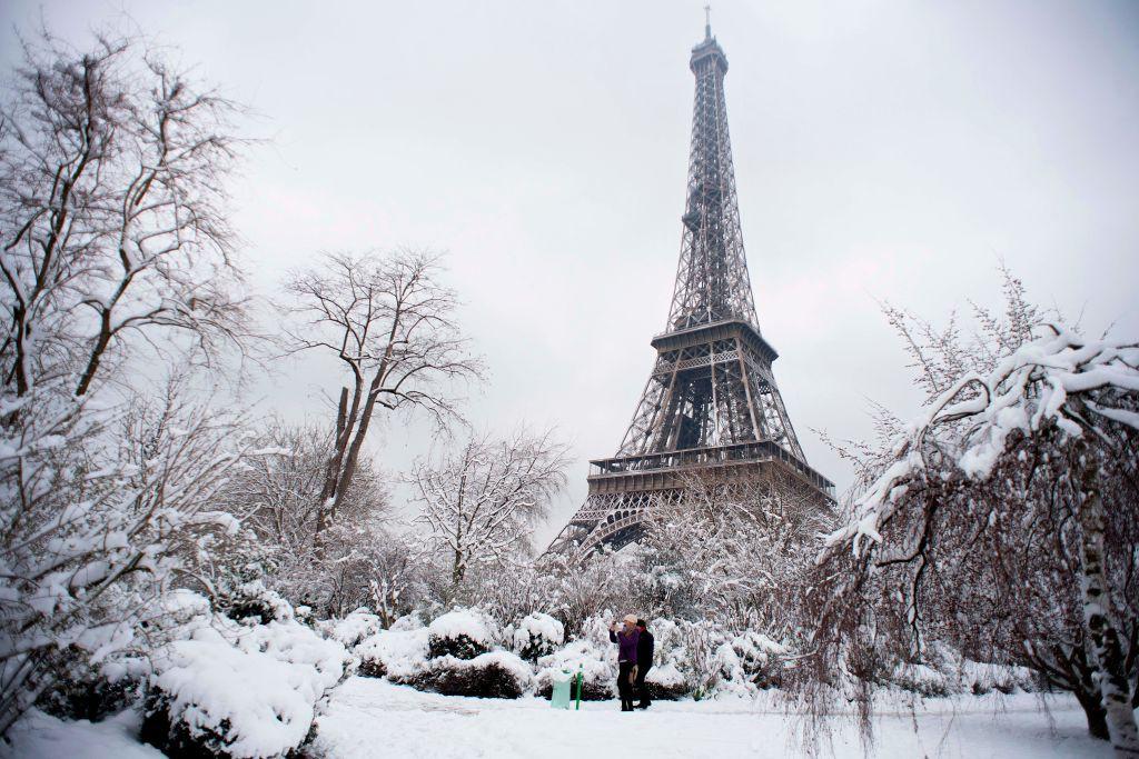 Ảnh đẹp về tuyết rơi