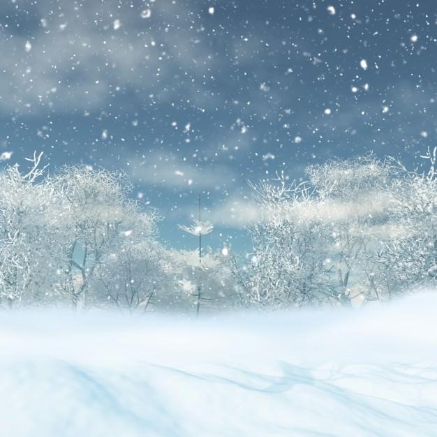 Ảnh nền tuyết rơi