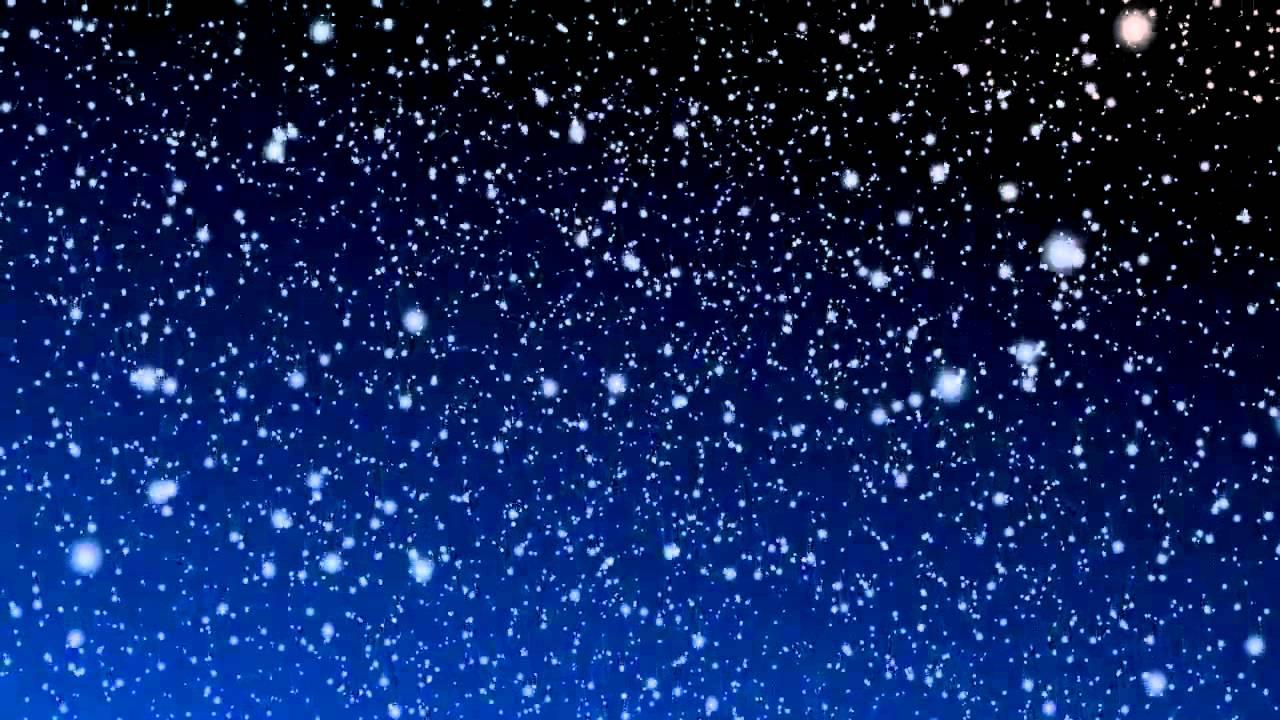 Hình ảnh bầu trời tuyết rơi