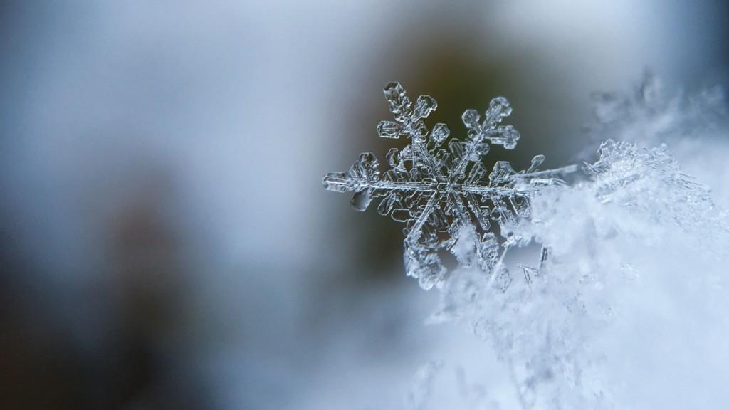 Hình ảnh đẹp về bông tuyết rơi