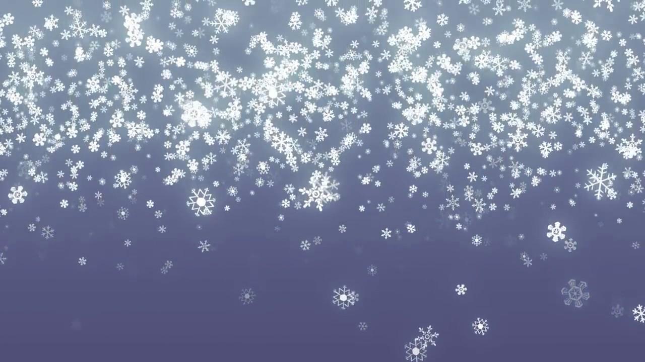 Hình ảnh tuyết rơi 3D
