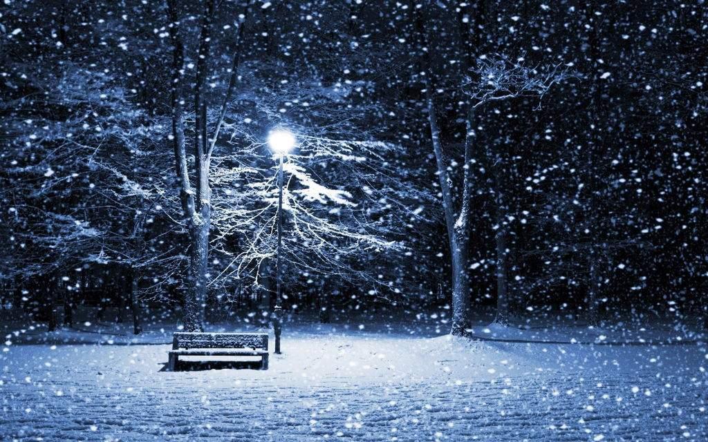 Hình ảnh tuyết rơi buồn lãng mạn