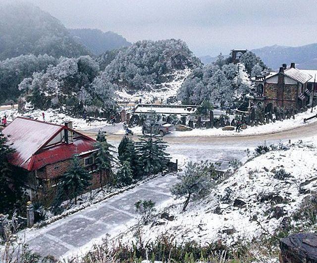 Hình ảnh tuyết rơi SaPa