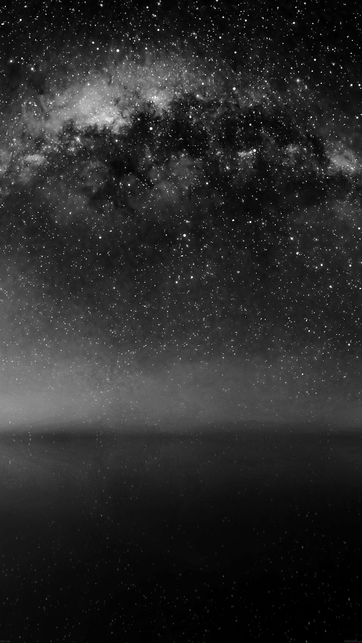 Hình nền bầu trời tối cho điện thoại