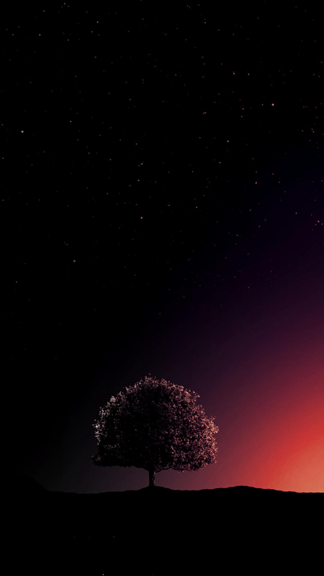 Hình nền thiên nhiên tối cho điện thoại