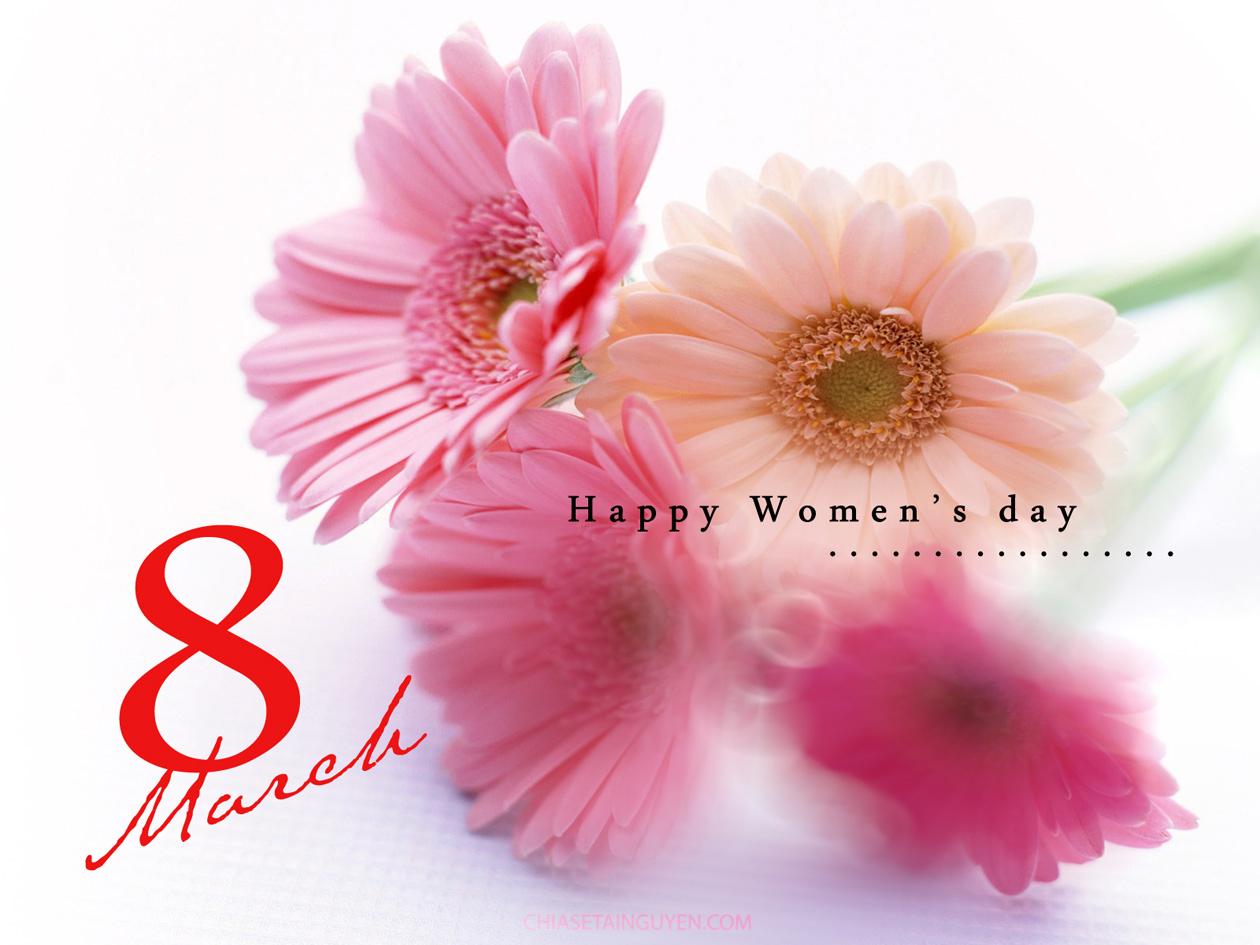 Ảnh 8 March chúc mừng ngày phụ nữ