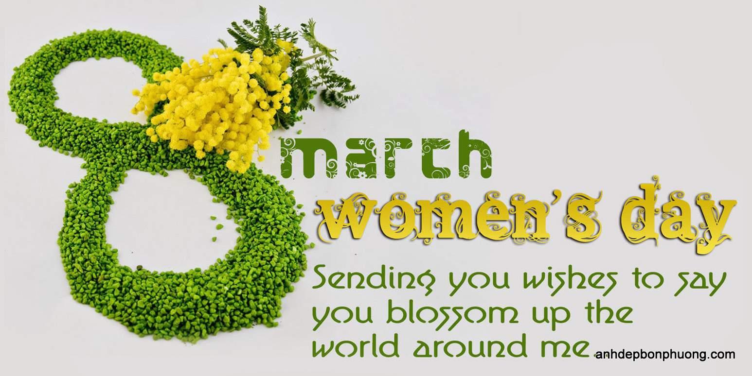 Ảnh đẹp chúc mừng ngày thế giới phụ nữ