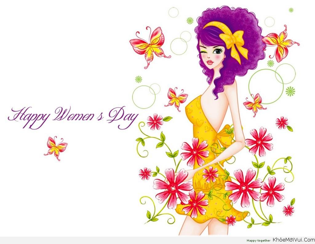 Ảnh happy womens day rất đẹp