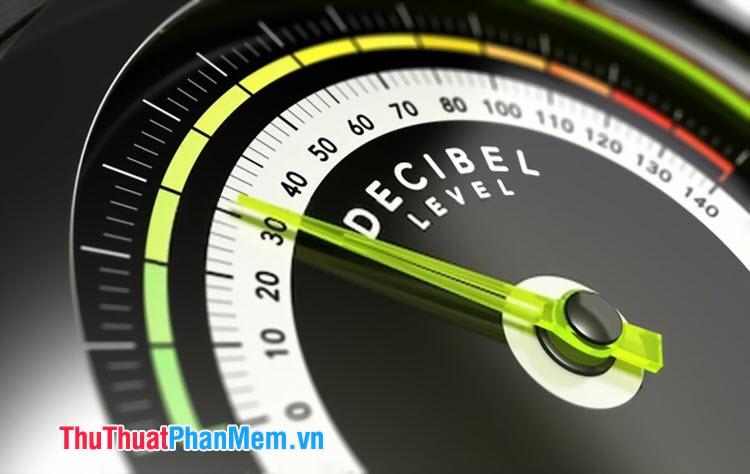 dB viết tắt của Decibel – đơn vị đo cường độ âm thanh dựa trên tính chất tai người