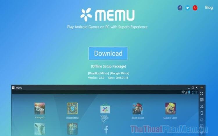 Hướng dẫn sử dụng Memu để giả lập Android trên máy tính
