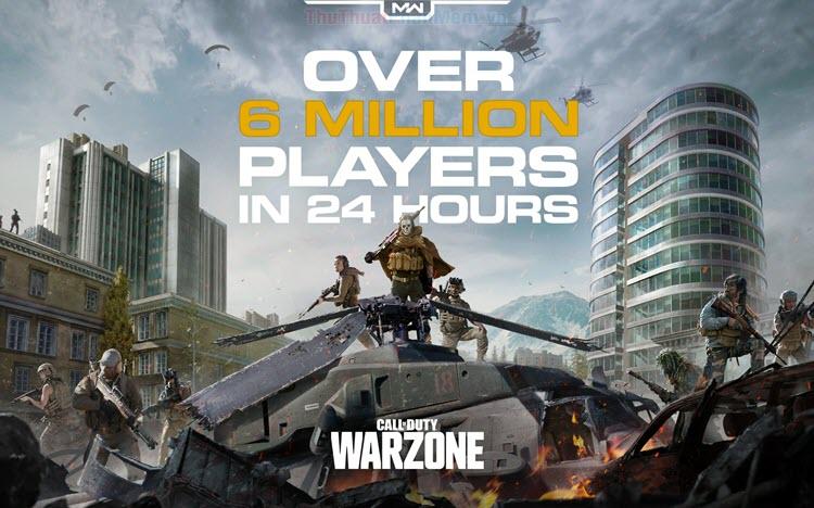 Cấu hình chuẩn để chơi Call Of Duty Warzone
