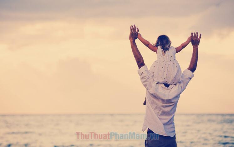 Những hình ảnh cha con đẹp nhất