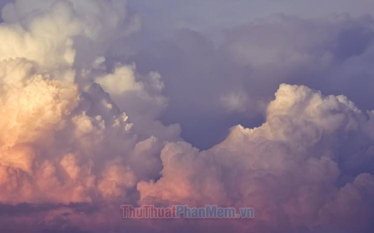 Những hình ảnh đám mây đẹp