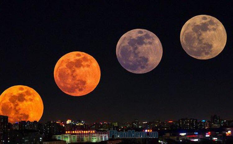 Những hình ảnh siêu trăng đẹp