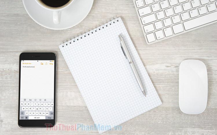 Cách tạo ghi chú nhanh trên màn hình khóa iPhone