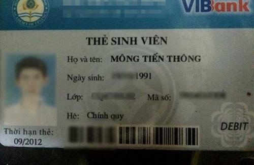 Cái tên bá đạo Mông Tiến THông