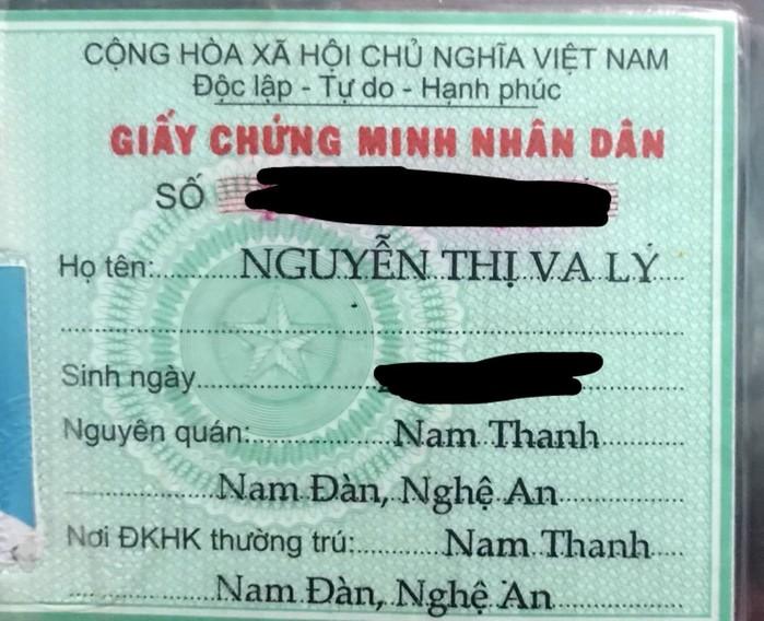 Cái tên bá đạo Nguyễn Thị Va Ly