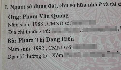 Cái tên bá đạo Phạm Thị Dâng Hiến
