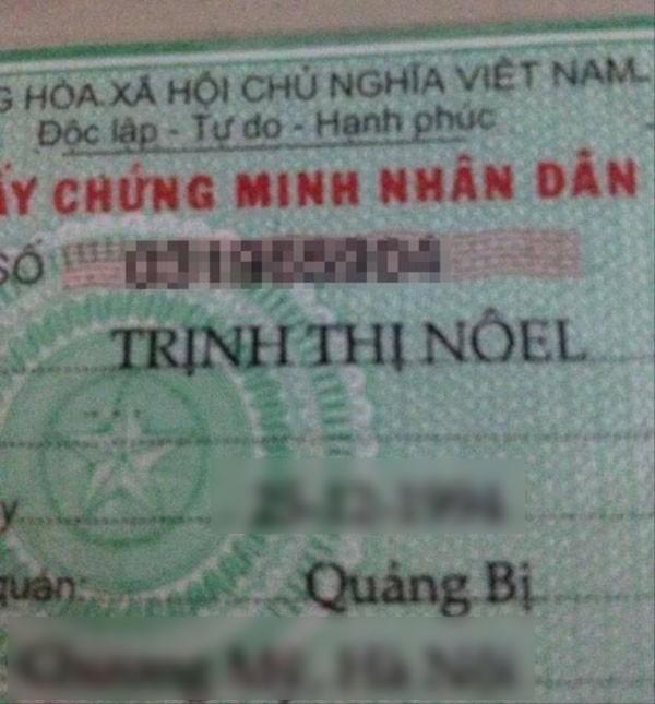 Cái tên bá đạo Trịnh Thị Nôel