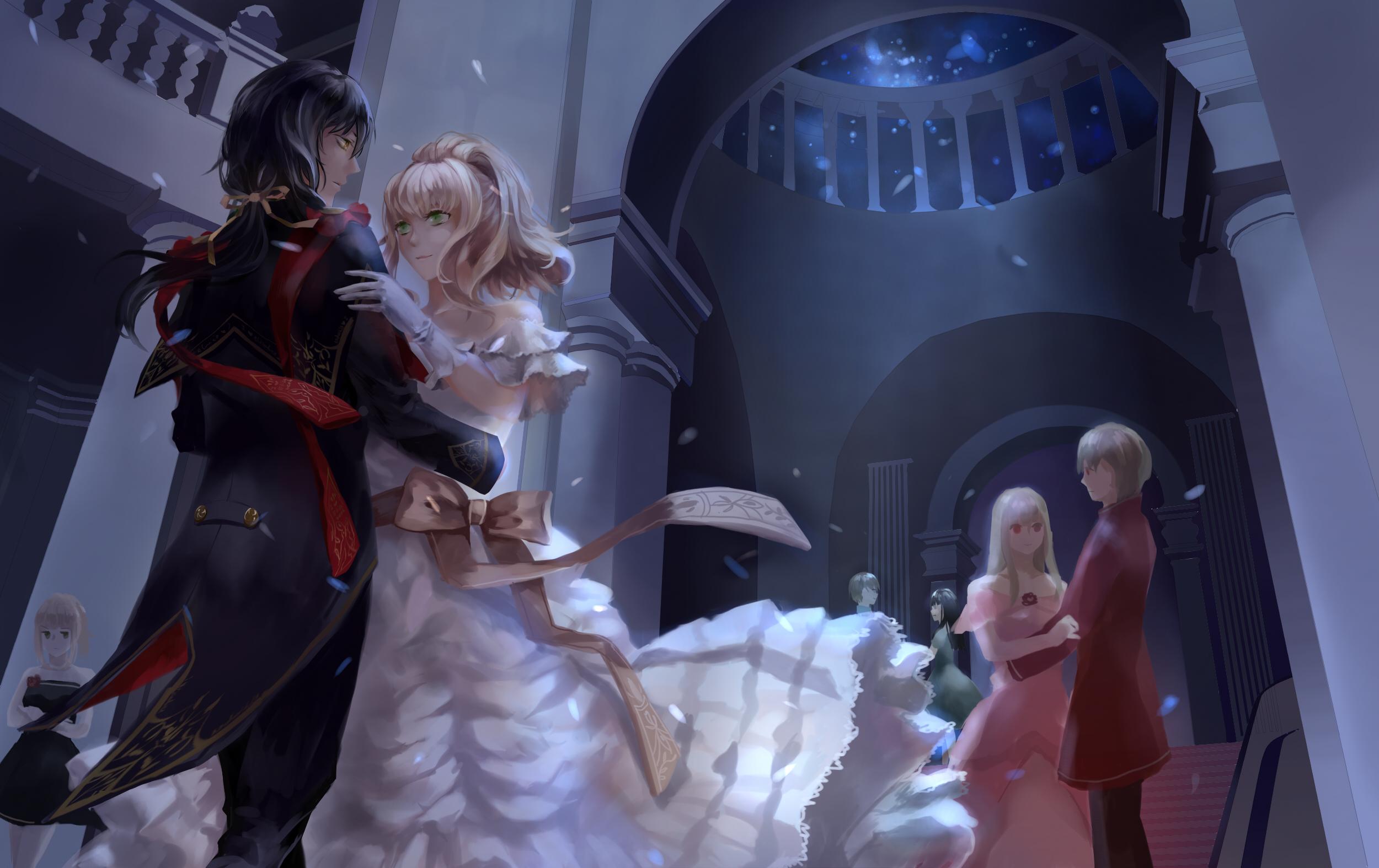 Hình ảnh anime cô công chúa khiêu vũ