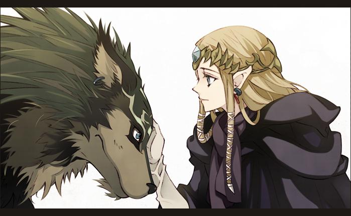 Hình ảnh anime cô công chúa và quái thú