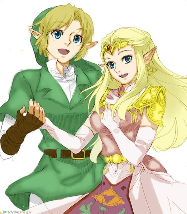 Hình ảnh cô công chúa tóc vàng của tộc elf