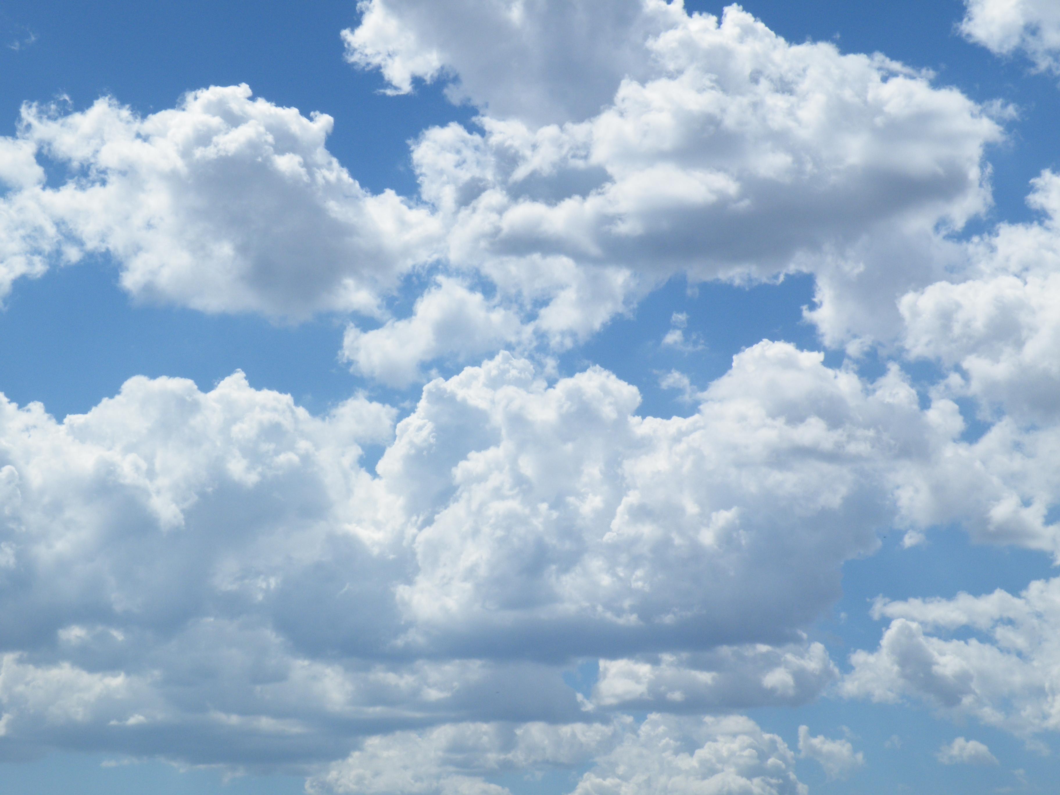 Hình ảnh mây trắng cực kỳ đẹp mắt