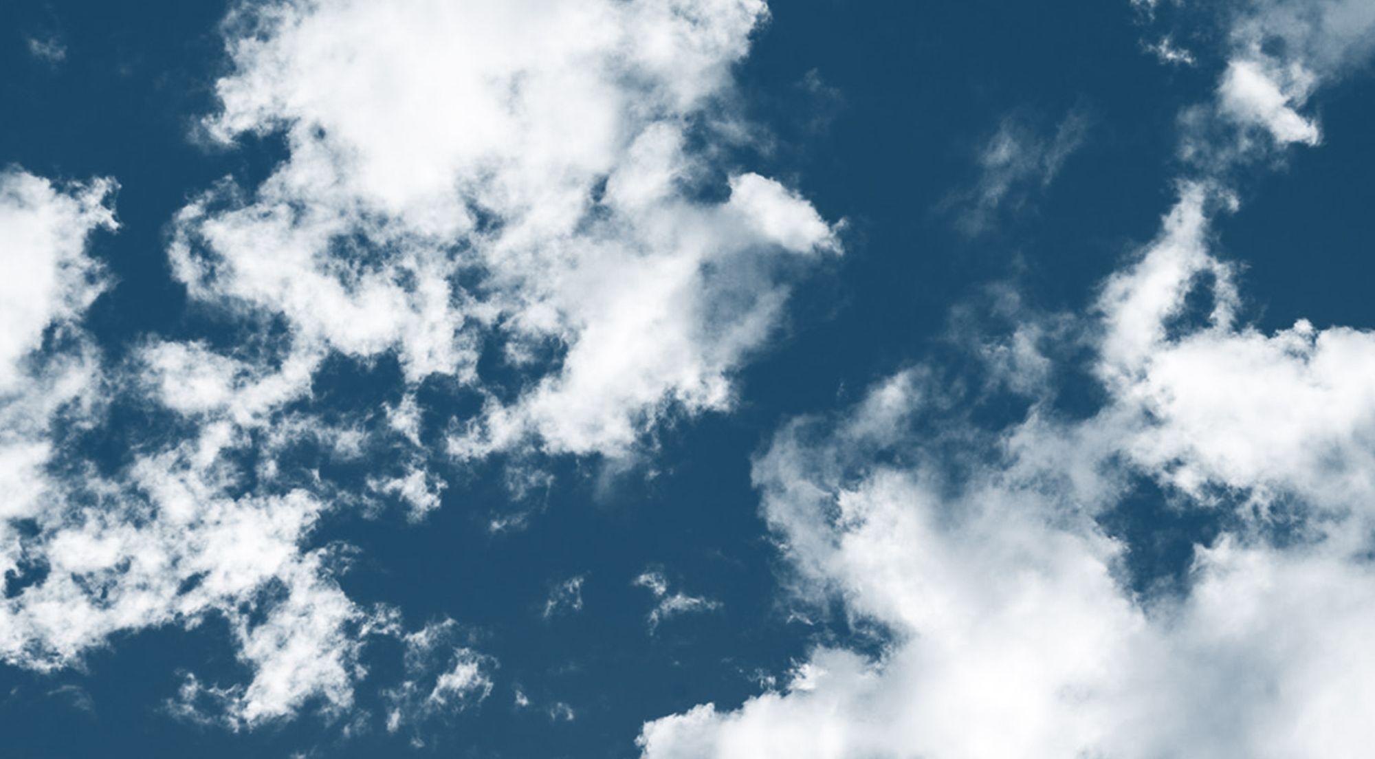Hình ảnh mây trắng trời xanh cực đẹp