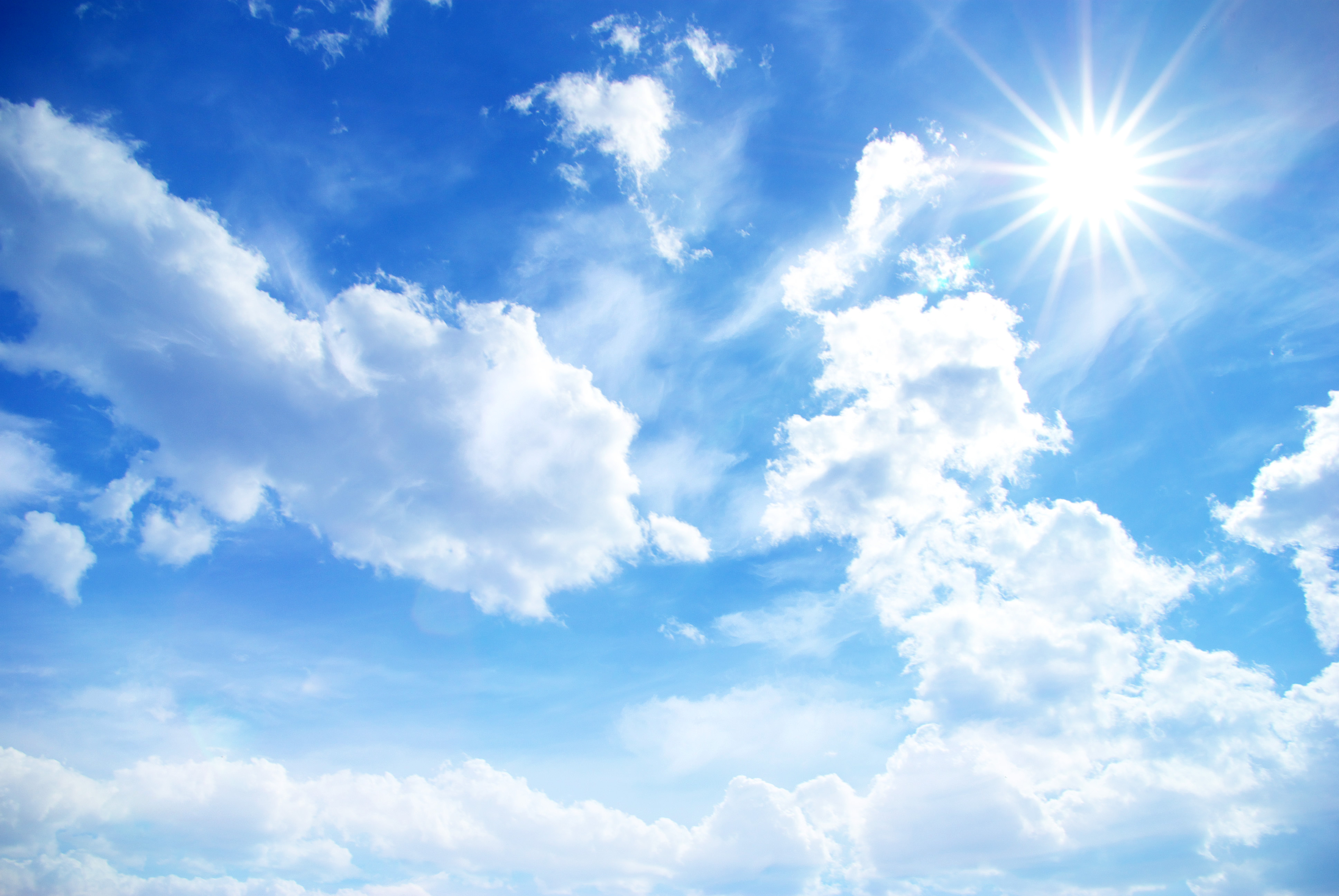 Hình ảnh mây trời nắng