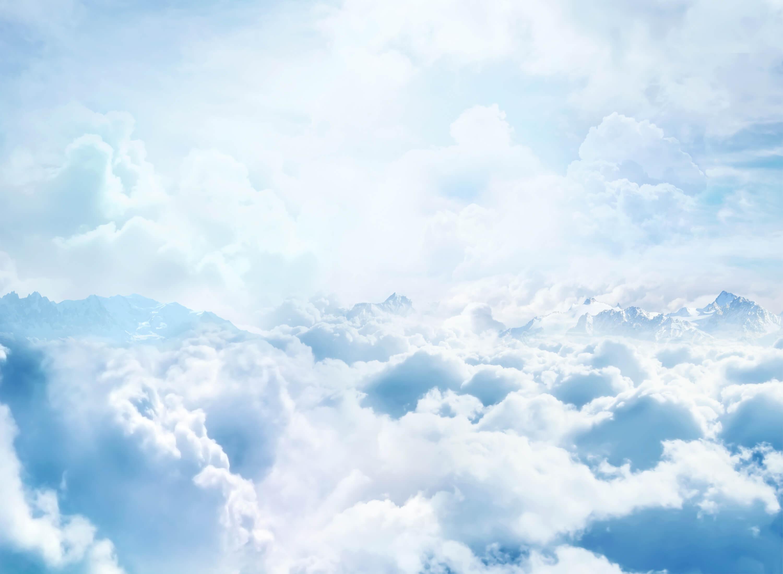 Hình ảnh những chòm mây trắng xóa