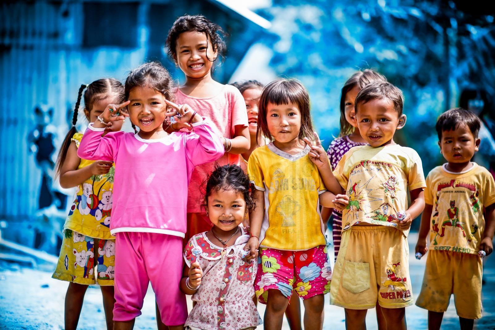Hình ảnh những trẻ em nghèo nhưng đẹp