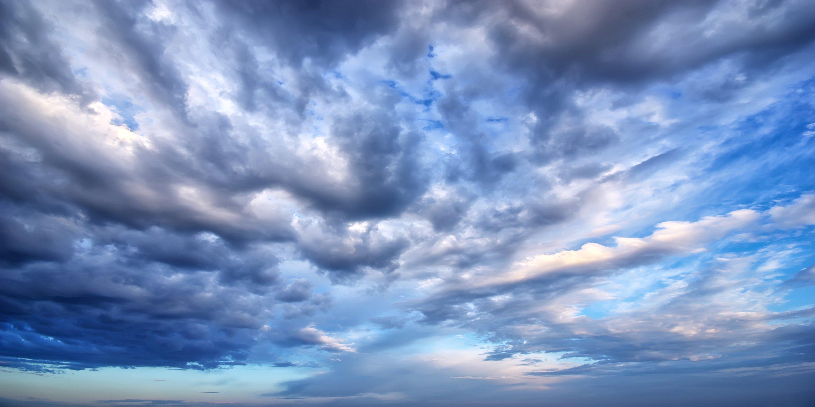 Hình ảnh rặng mây khi trời sắp bão