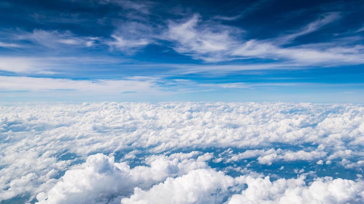 Hình ảnh tầng mây trên tầng bình lưu