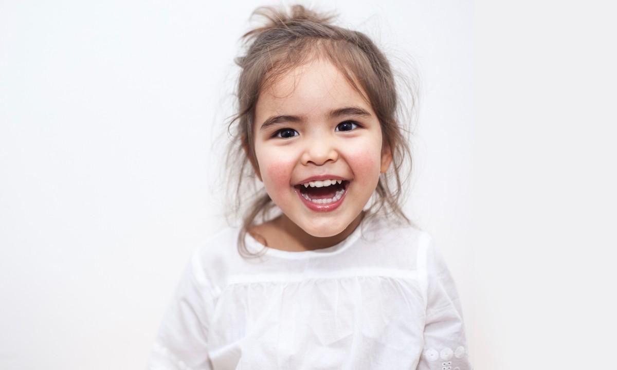 Hình ảnh trẻ em cười rất tươi