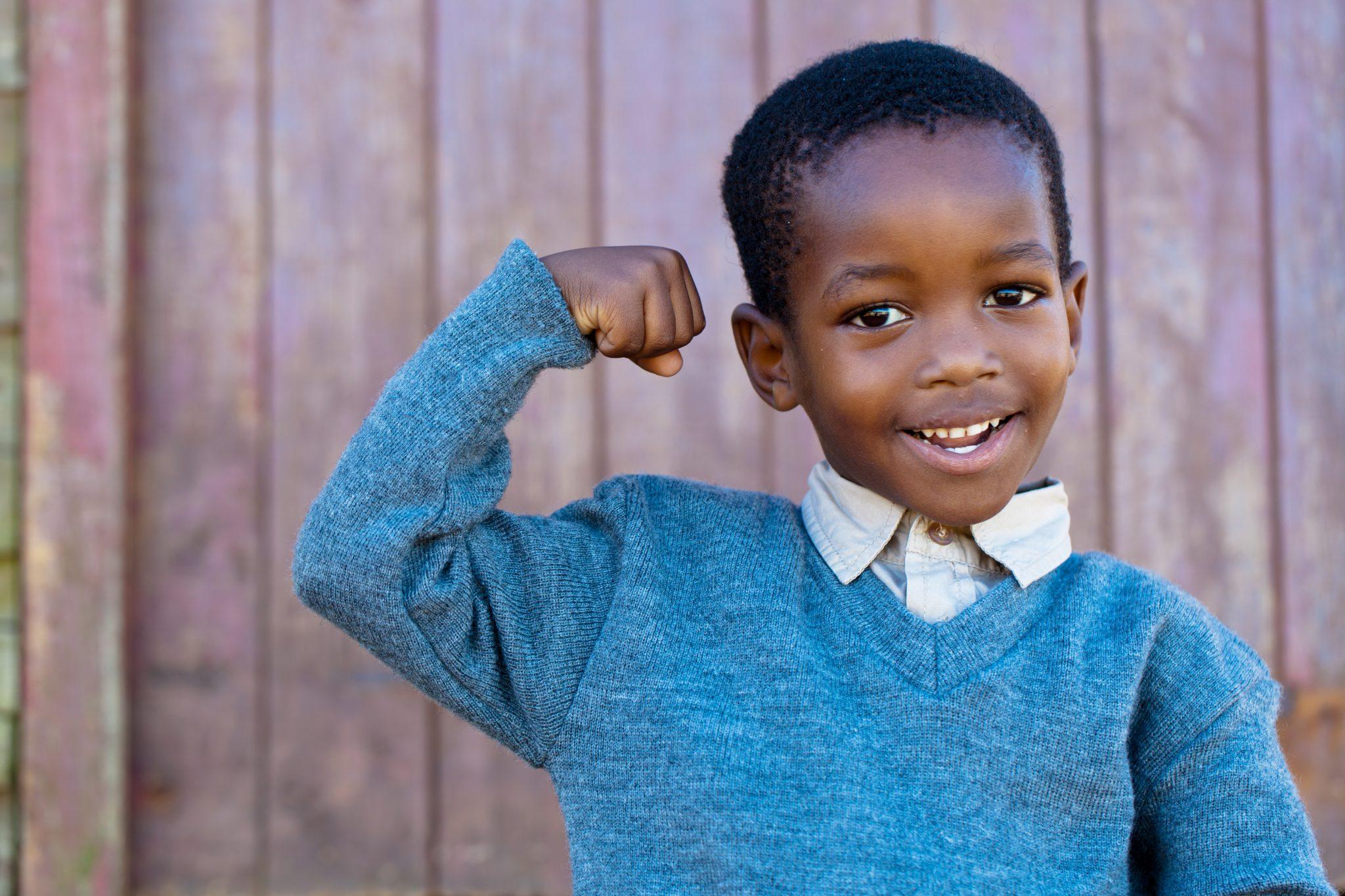 Hình ảnh trẻ em đứa bé da đen