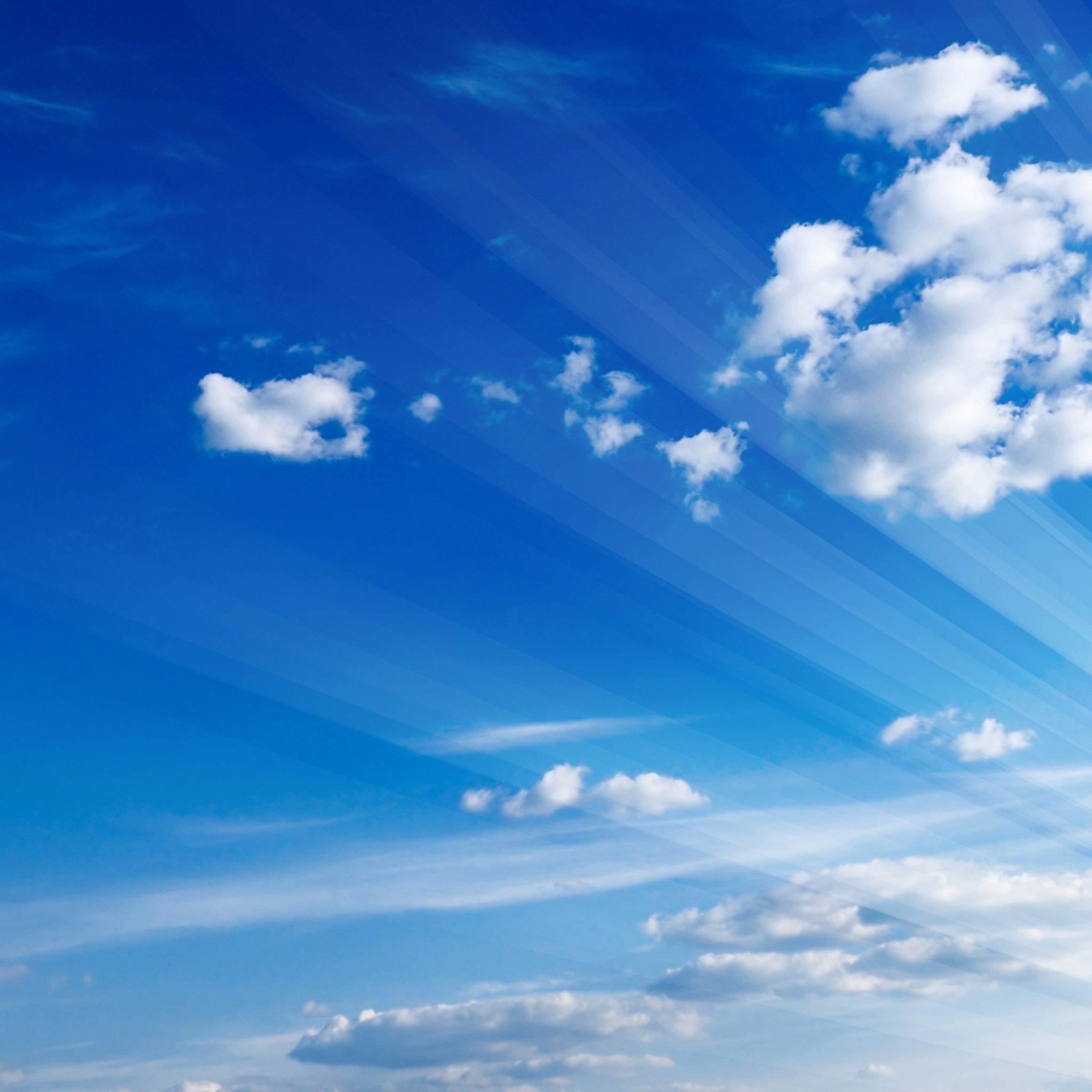 Hình ảnh trời mây và ánh nắng