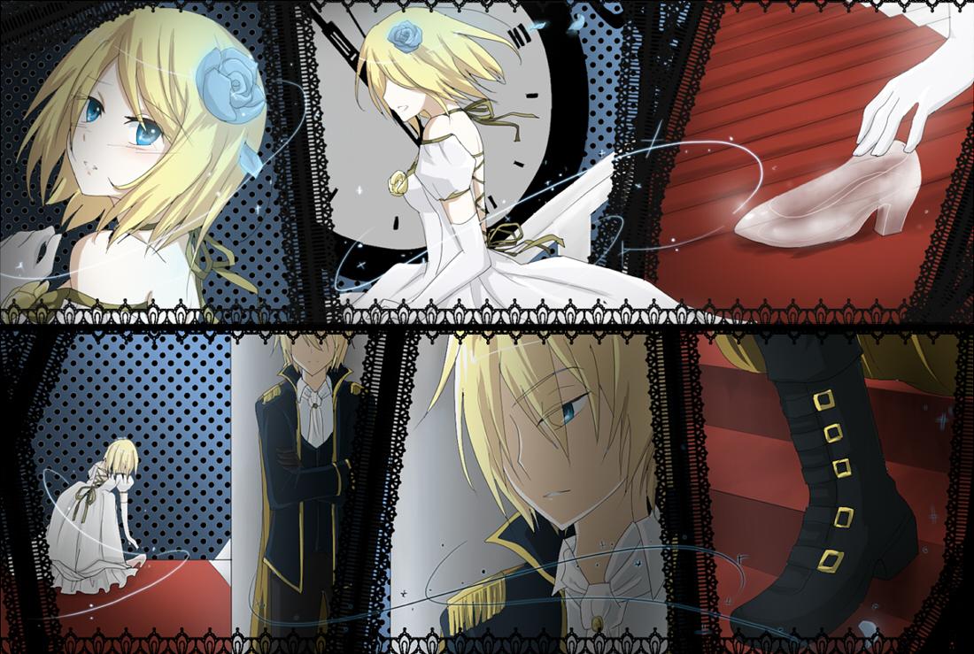 Hình anime cực đẹp cô công chúa Rin
