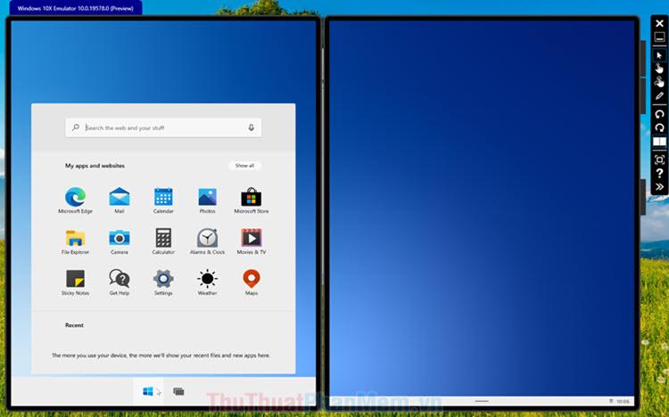 Hướng dẫn cài trình giả lập Window 10X trên Window 10