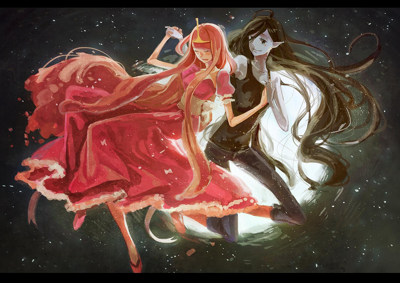 ranh anime cô công chúa tóc hồng cực xinh đpẹ
