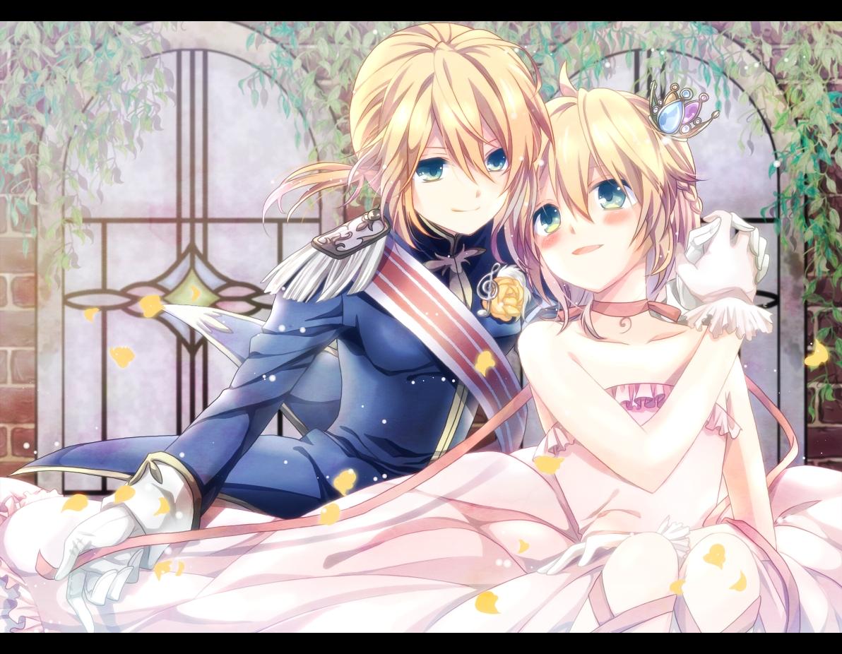 Tranh anime công chúa và vương tử