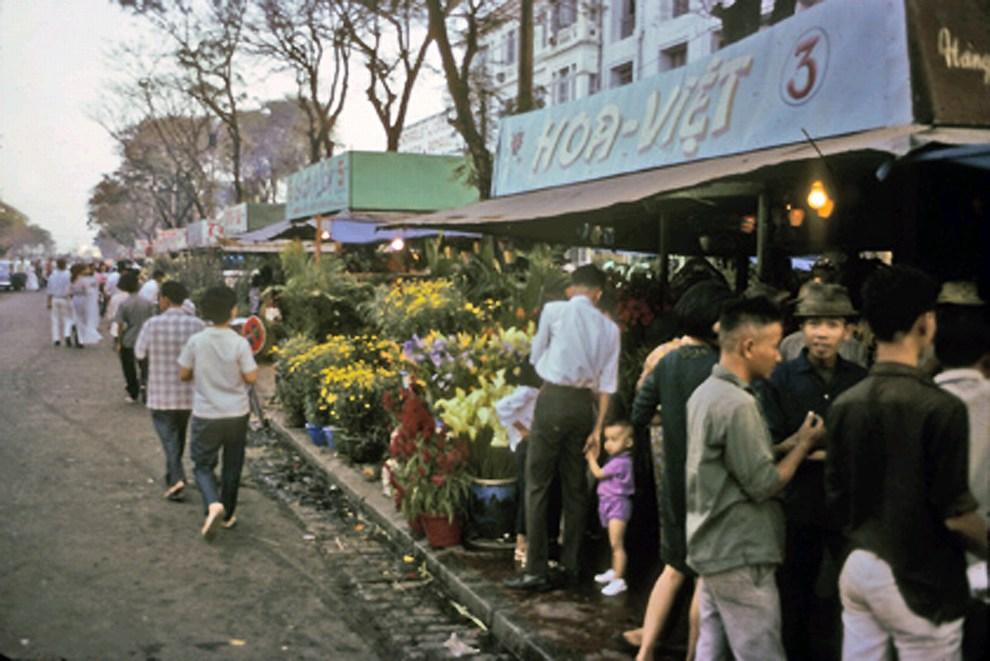 Hình ảnh chợ ngày tết xưa
