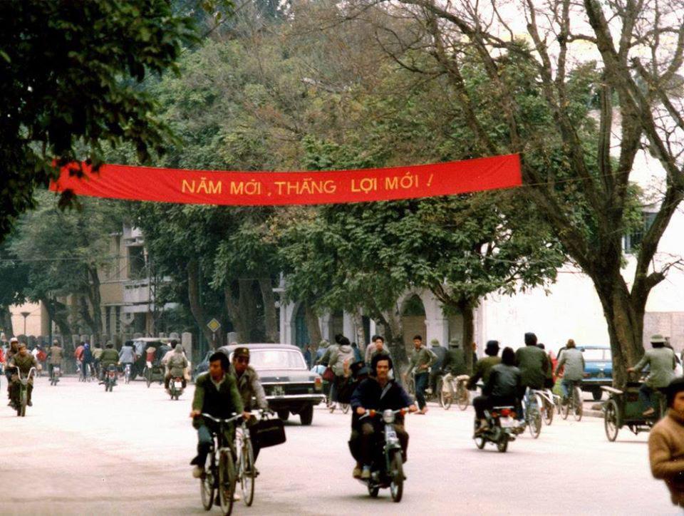 Hình ảnh đường phố ngày tết xưa