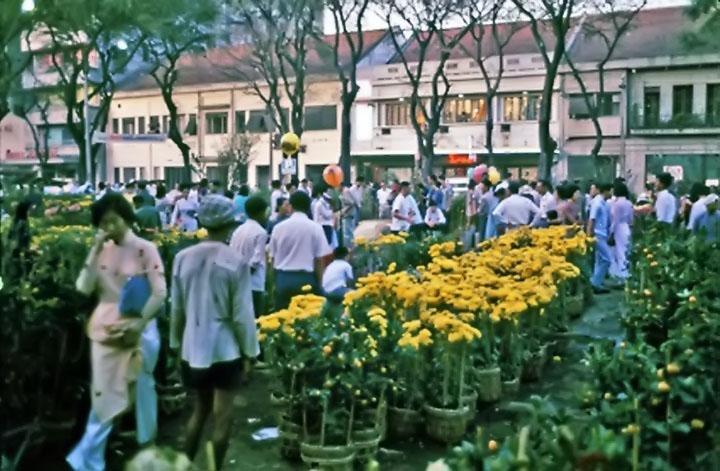 Hình ảnh Sài Gòn tết xưa