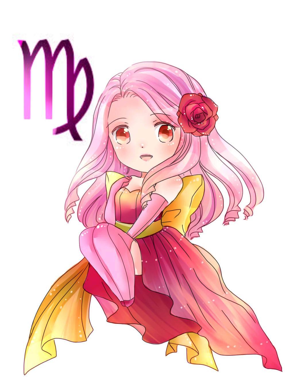 12 cung hoàng đạo Chibi dễ thương nhất - Cung Xử nữ
