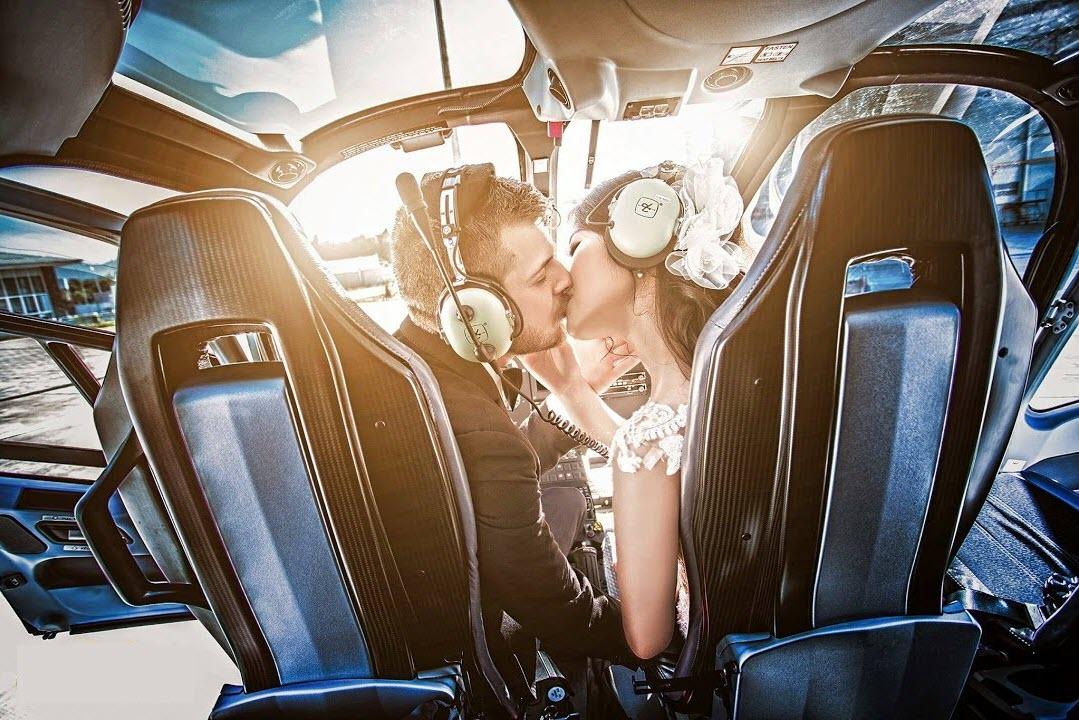 Ảnh hôn nhau độc đáo lãng mạn