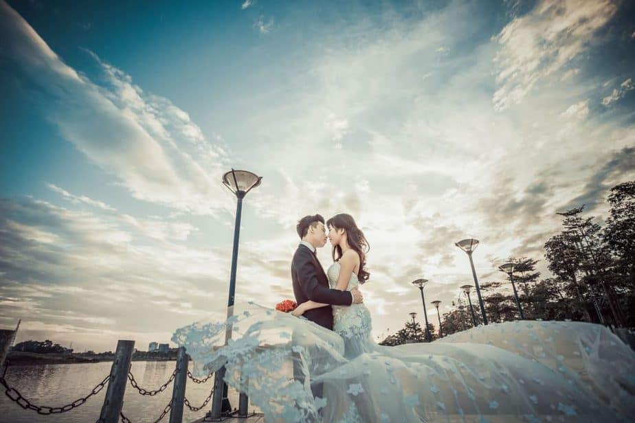 Ảnh hôn nhau lãng mạn tại Đà Nẵng