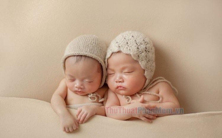 Bộ ảnh em bé sơ sinh đẹp nhất dễ thương nhất